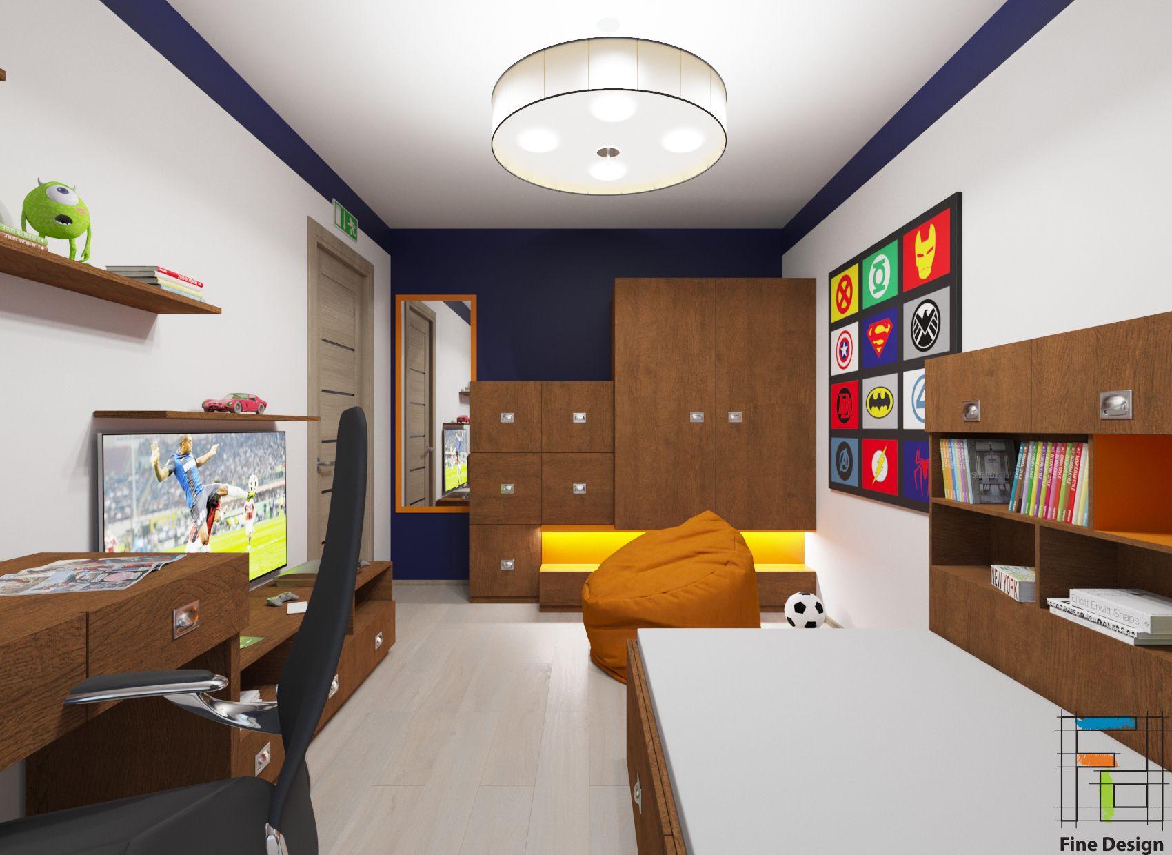 Детская комната 103 я серия ЗD дизайн проекты