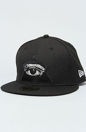 Dissizit The Never Sleep New Era Cap In Black New Era Cap Hip Hop Gear Hats For Men