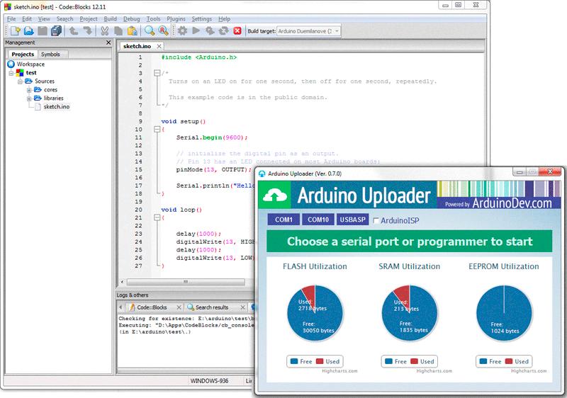 Code Block Ide With Simulator Circuits Pinterest