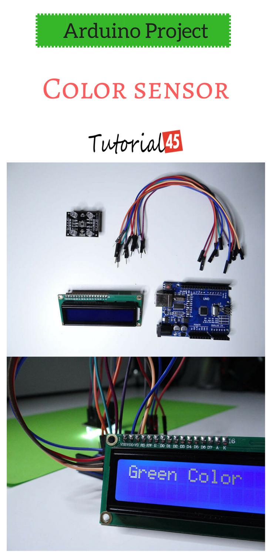 Arduino Projects Color Sensor Pinterest Circuit