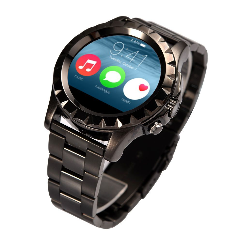 0120bfb5d4b5 S2 Bluetooth Smart Watch Waterproof Mens Band Phone Camera For Android  iPhone  UnbrandedGeneric
