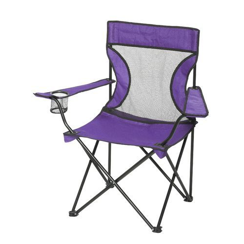 Academy Sports + Outdoors™ Mesh Folding Armchair | Folding ...