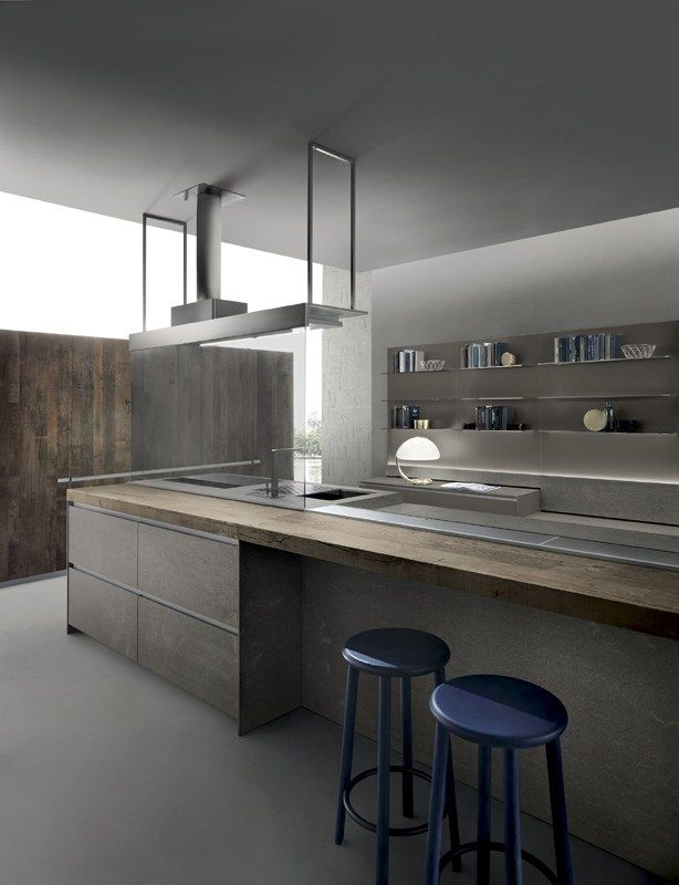 Cucina con isola ICON | Cucina con isola - ERNESTOMEDA | Kuchnia ...
