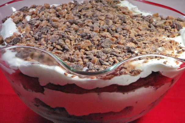 Toffee Brownie Trifle. Photo by Kerfuffle-Upon-Wincle