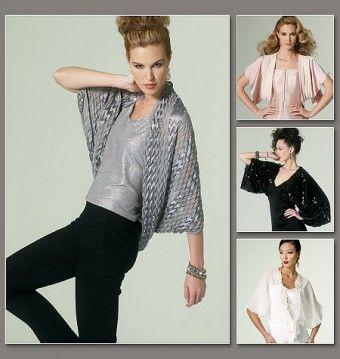 Vogue - 8796 korte chique jasjes