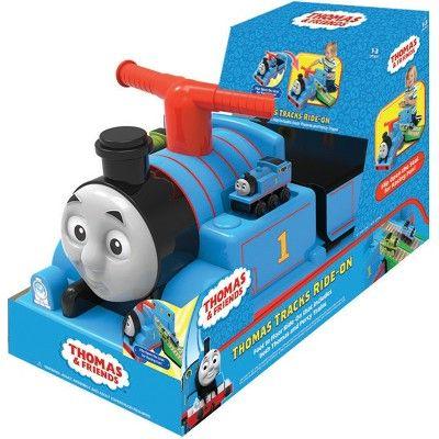 Thomas /& Friends 6v Ride-On Train /& Set de Rail Nouveau