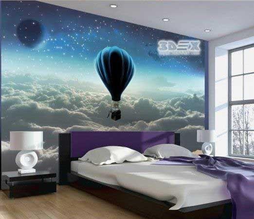 Best 3D Wall Murals 2018 For Bedrooms 3D Wallpaper For Walls A 400 x 300