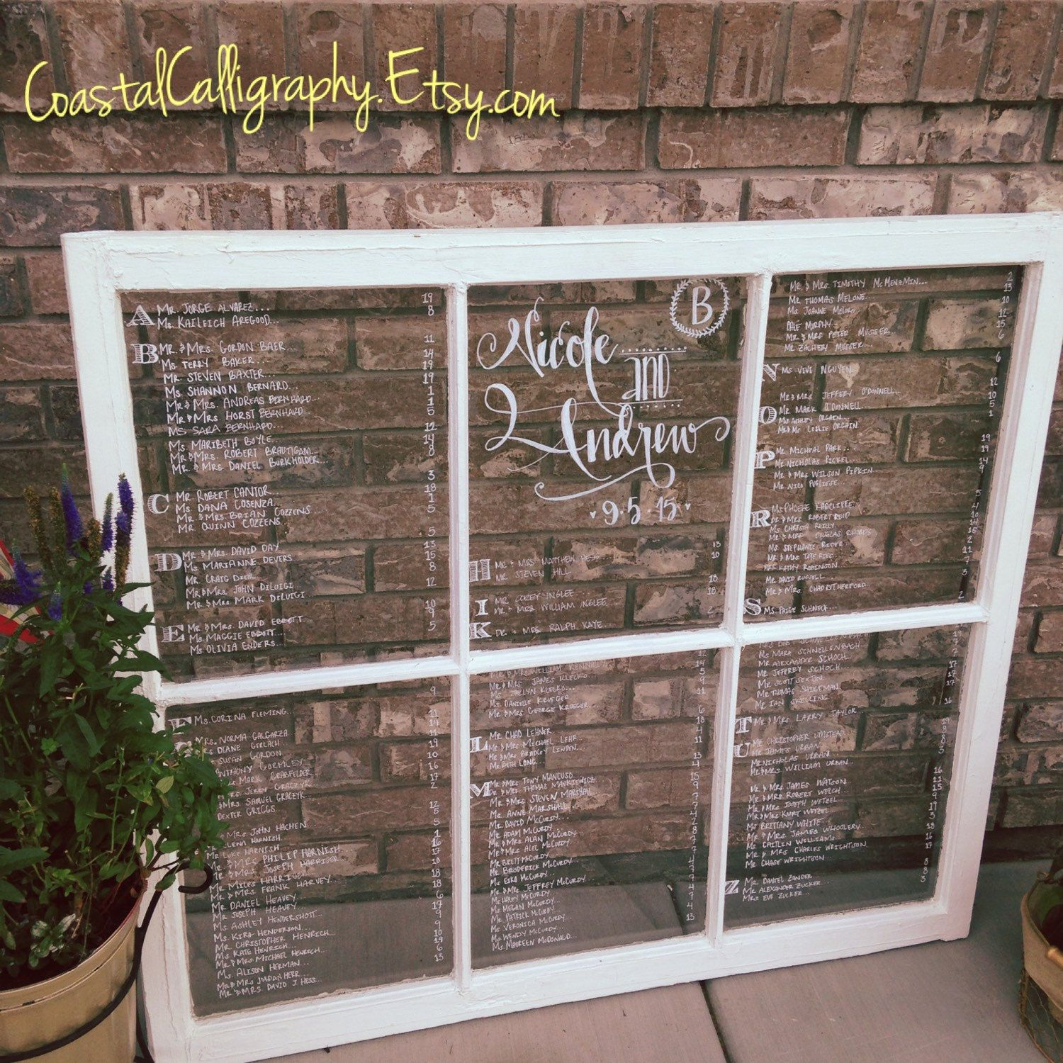 Wood window seating charts for weddings and other events chart wedding also best rustic images custom design rh pinterest