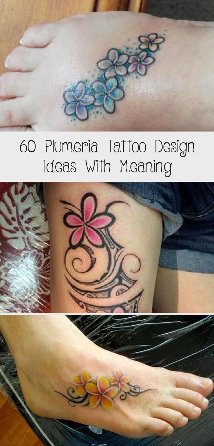 60 Plumeria Tattoo Design Ideas With Meaning In 2020 Plumeria Tattoo Tribal Tattoos For Women Frangipani Tattoo