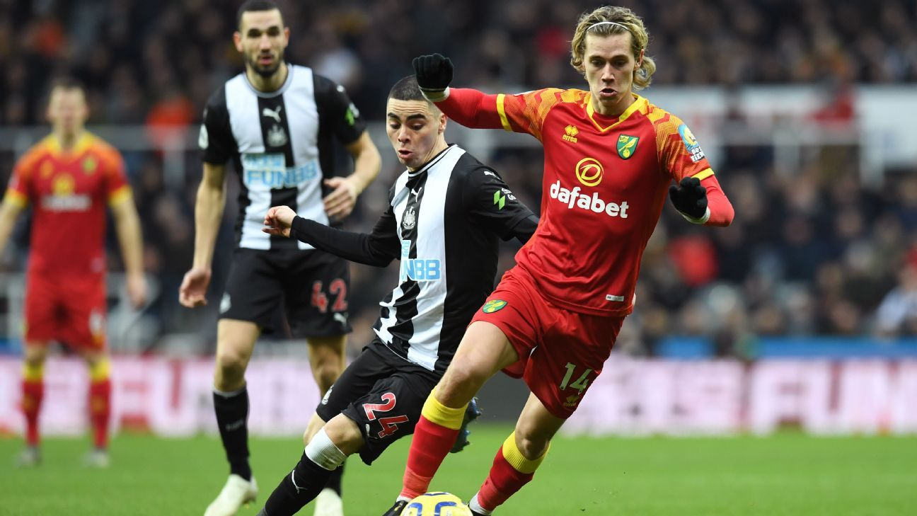 Newcastle Climb To 10th With Draw Against Norwich In 2020 Newcastle Premier League News Norwich