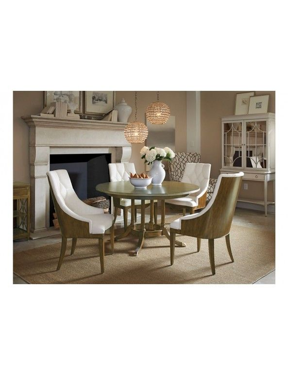 Drexel Heritage Olio Narrative Dining Table 54 Inch Tables Room Furniture