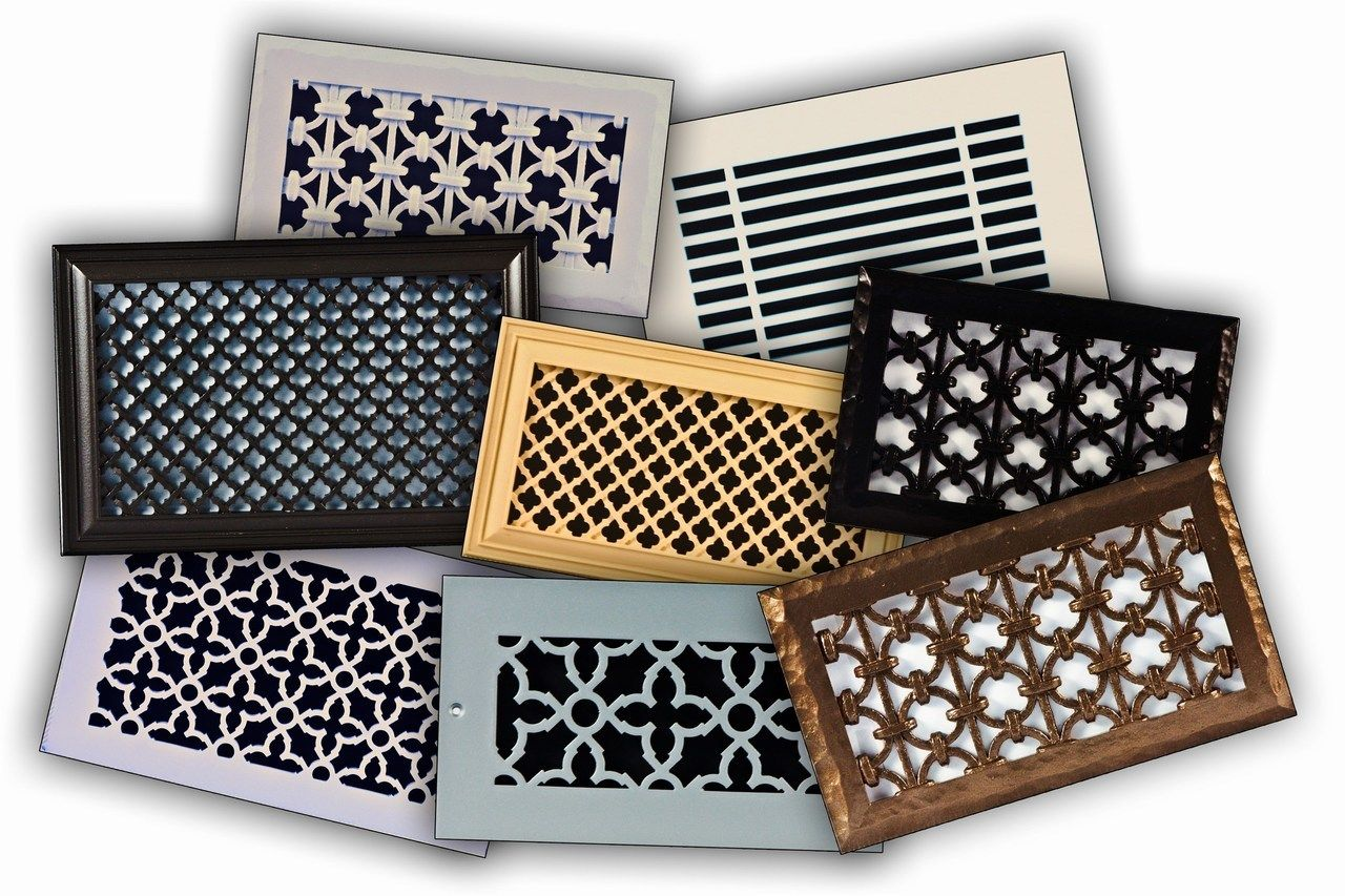 Decorative Resin Air Return Filter Grille Decorative