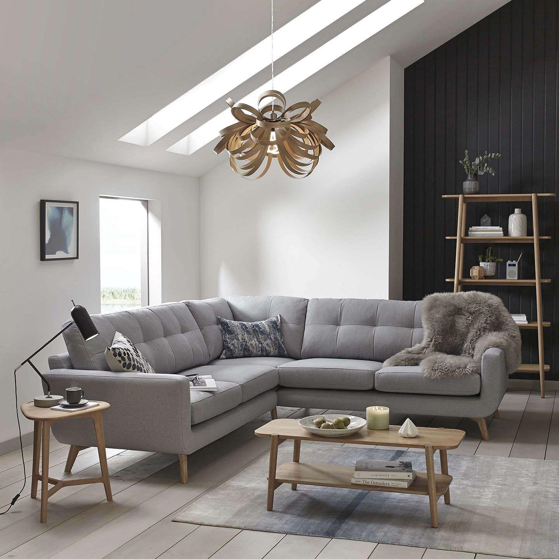 John Lewis Partners Barbican Grand 4 Seater Sofa In 2020 Corner Sofa Living Room Corner Sofa Corner Sofa Lounge