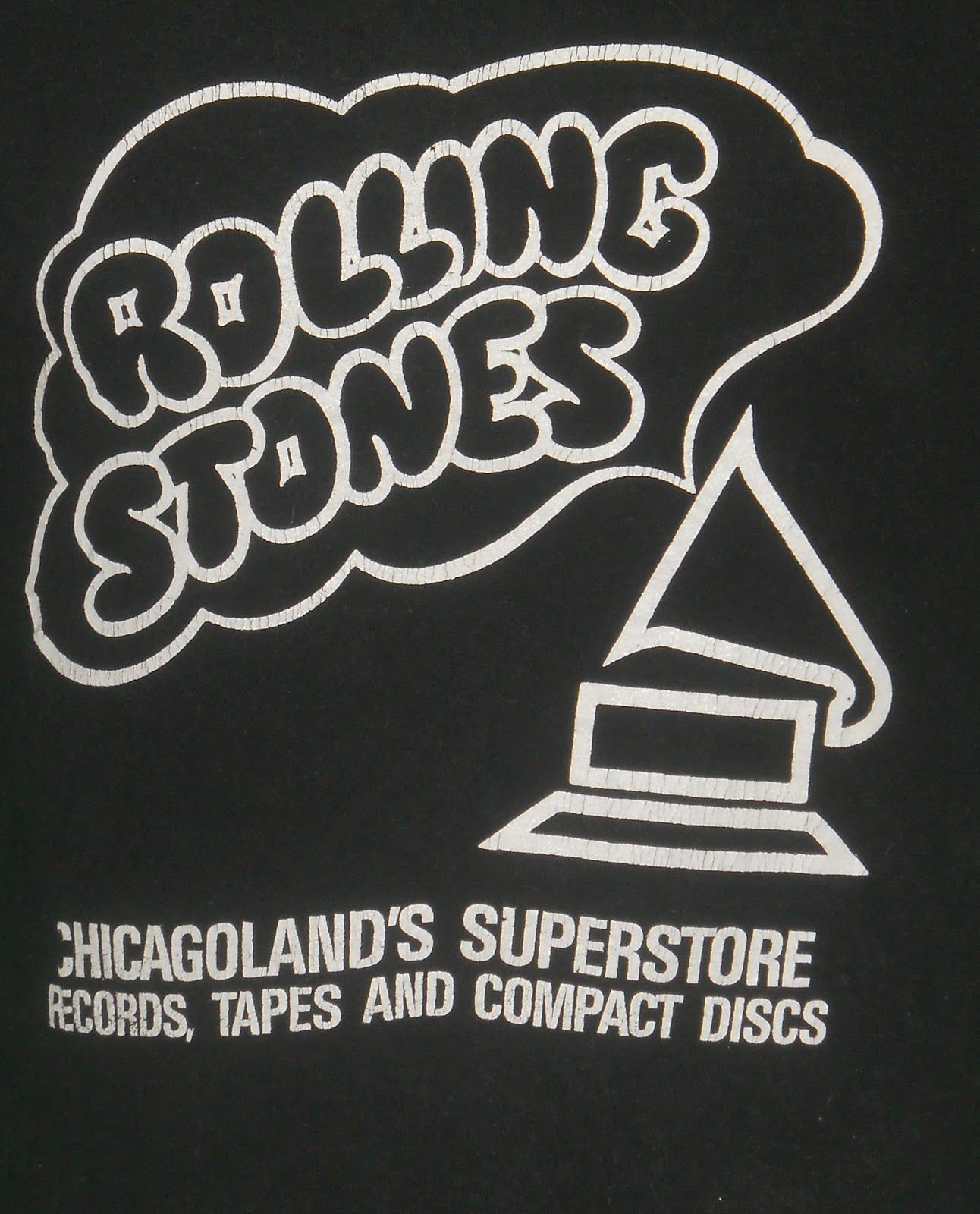 The Voodoo Vintage Rolling Stones Chicago Record Store Tee Record Store Vinyl Record Store Rolling Stones
