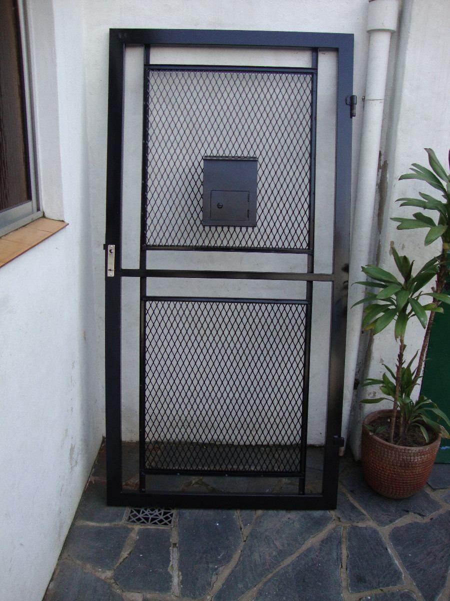 Puerta de rejas rejados pinterest puertas de rejas y - Puertas de reja ...