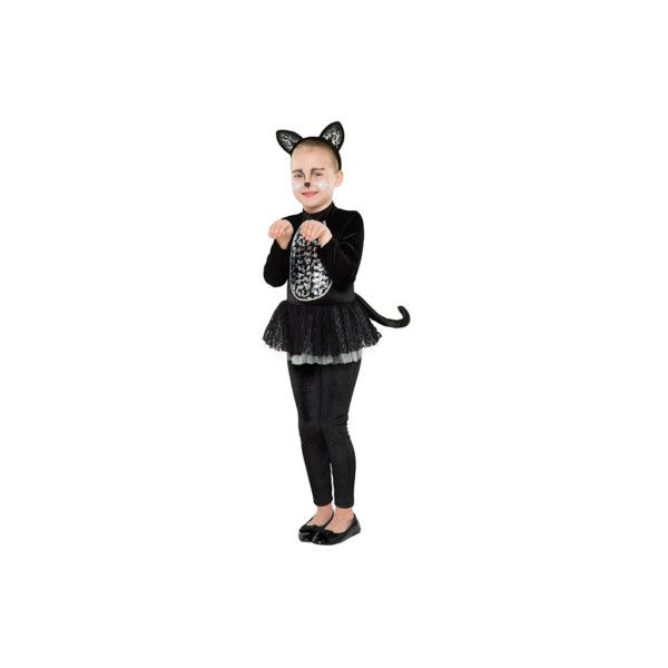 cat spooky cat halloween costume 17 a liked on polyvore featuring black