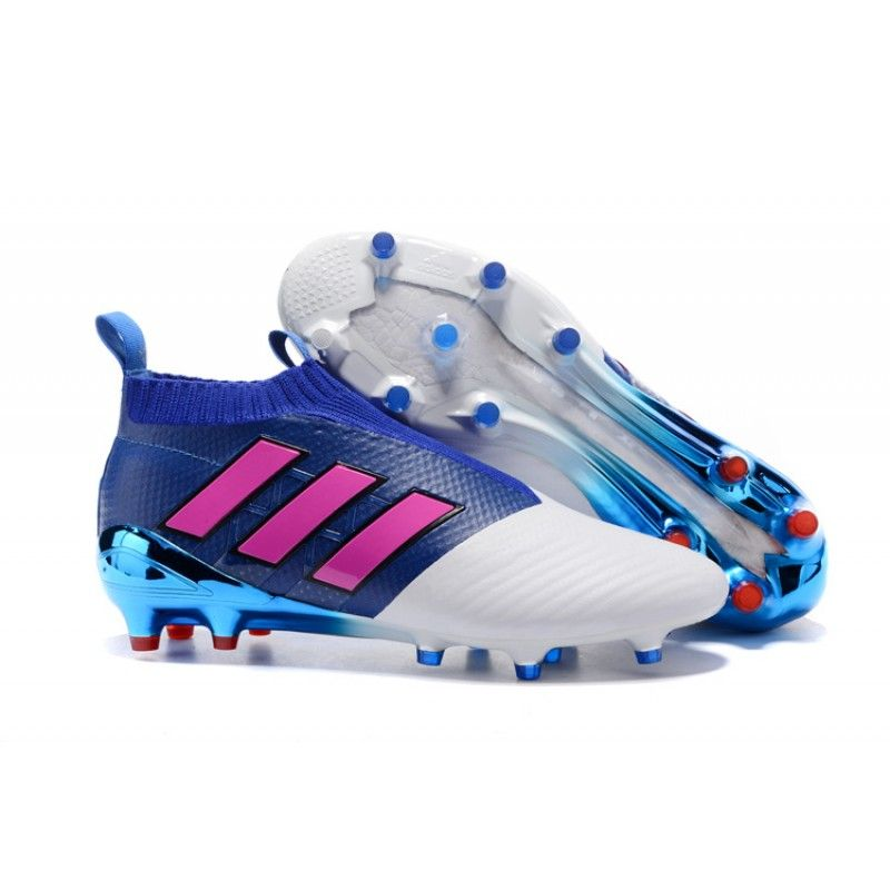 adidas ACE 17 Purecontrol FG  Blue Shock Pink White