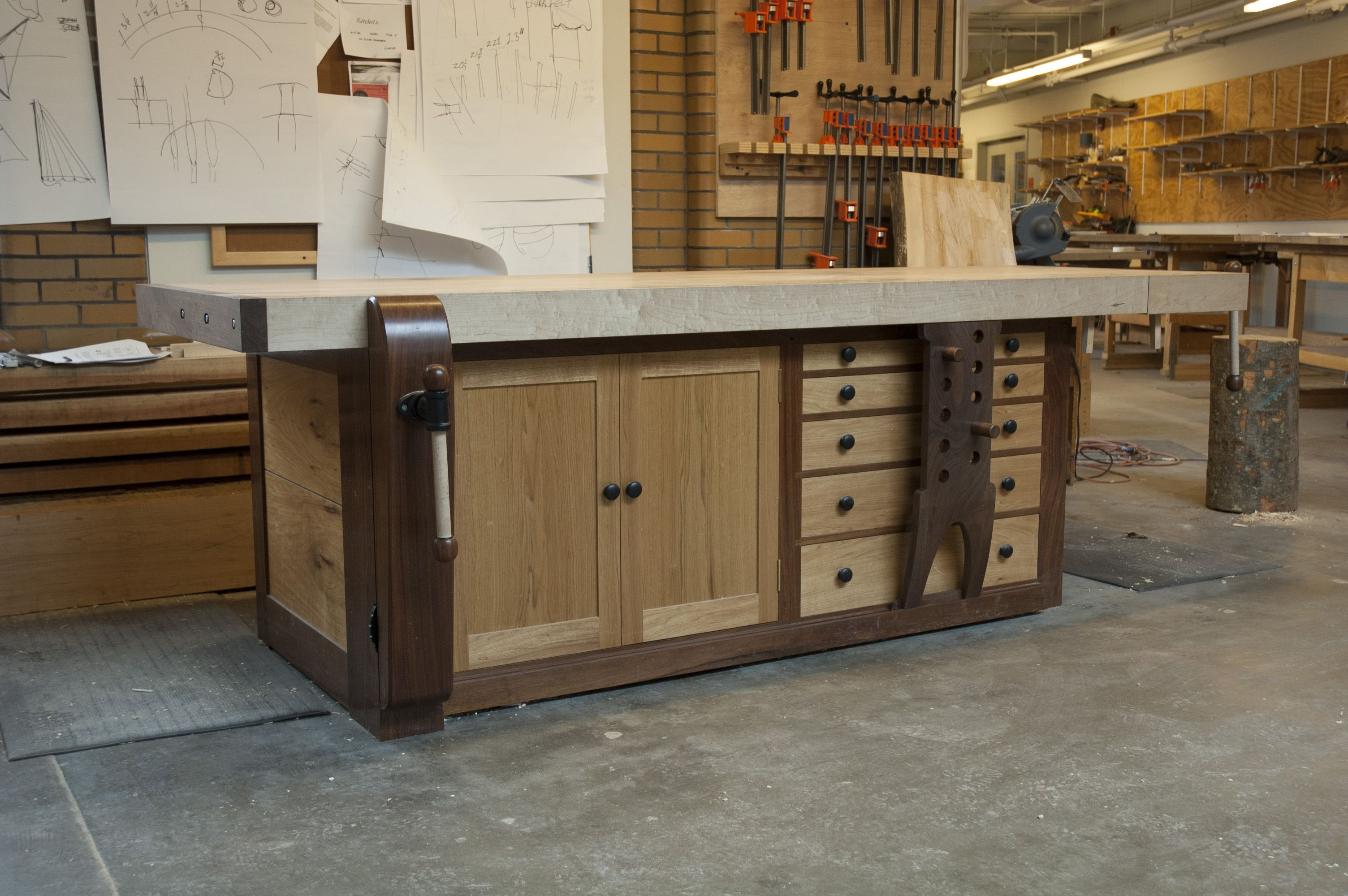 Workbench Shaker Bench Shaker Style Woodworking Workbench