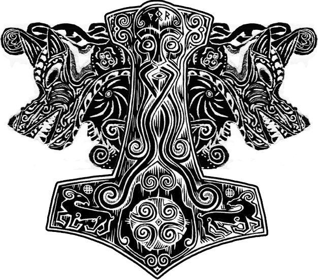 Norse Tattoos Fenrir For norse tattoos fenrir. | Norse ...
