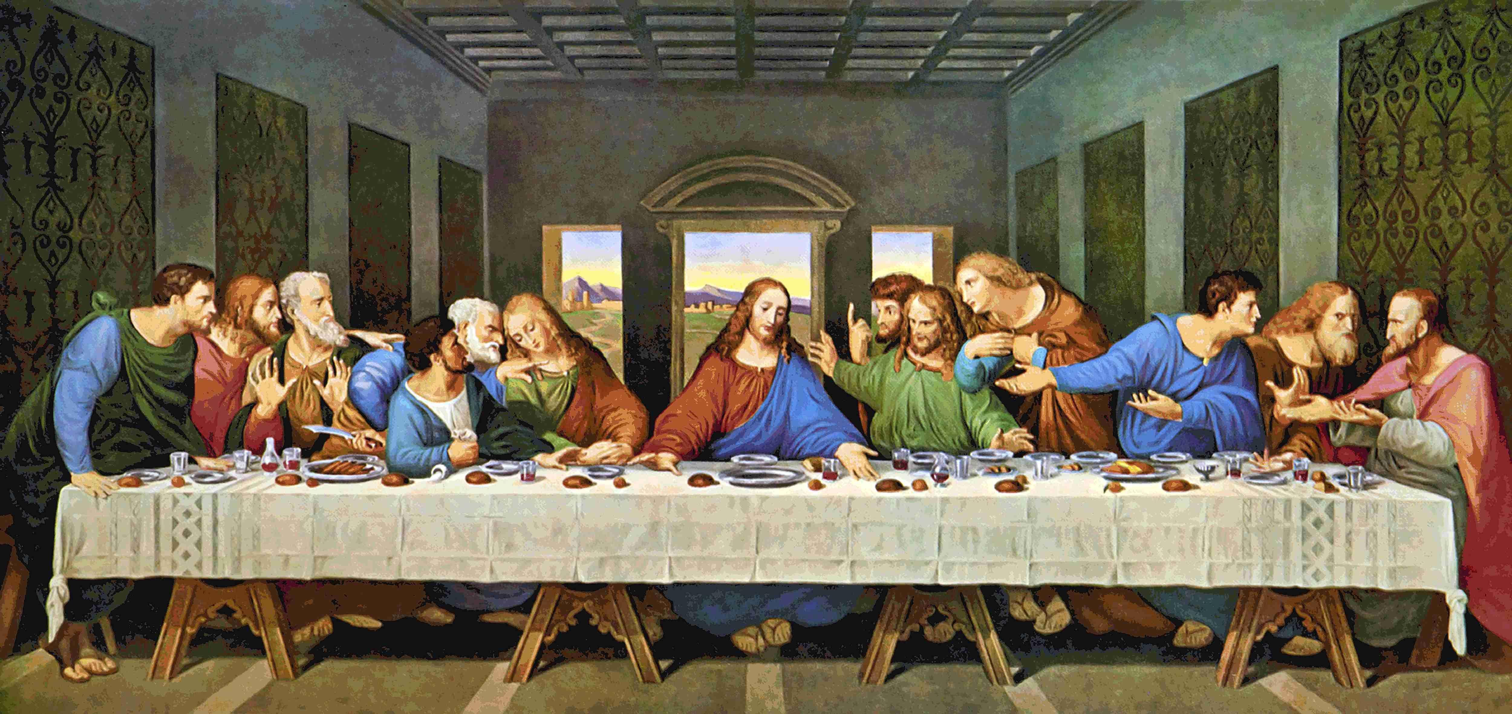 última Cena Cuadro De La última Cena La Ultima Cena Ultima Cena De Jesus