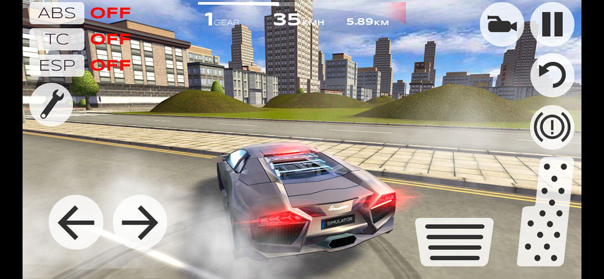 Extreme Car Driving Simulator Sports Games Racing Ios Driving Simulator Simulation Car