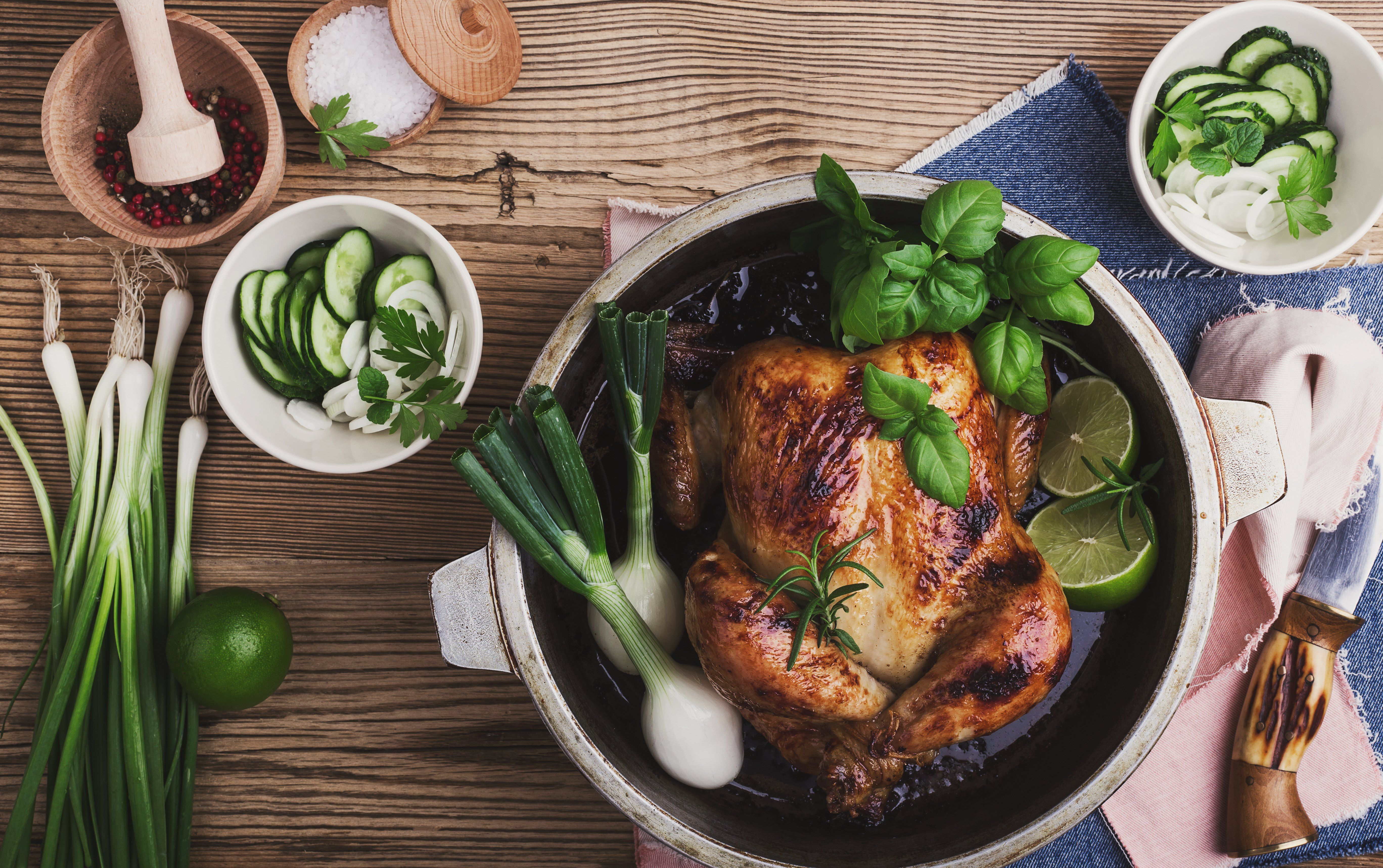 how to slow bake chicken