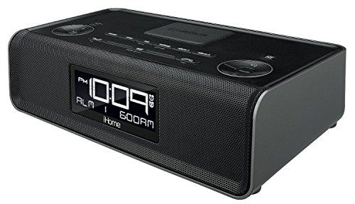 Ihome Ibn43bc Bluetooth Stereo Dual Alarm Fm Clock Radio And Speakerphone With Usb Charging Find Out More About The Great Pro Phone Speaker Radio Alarm Clock