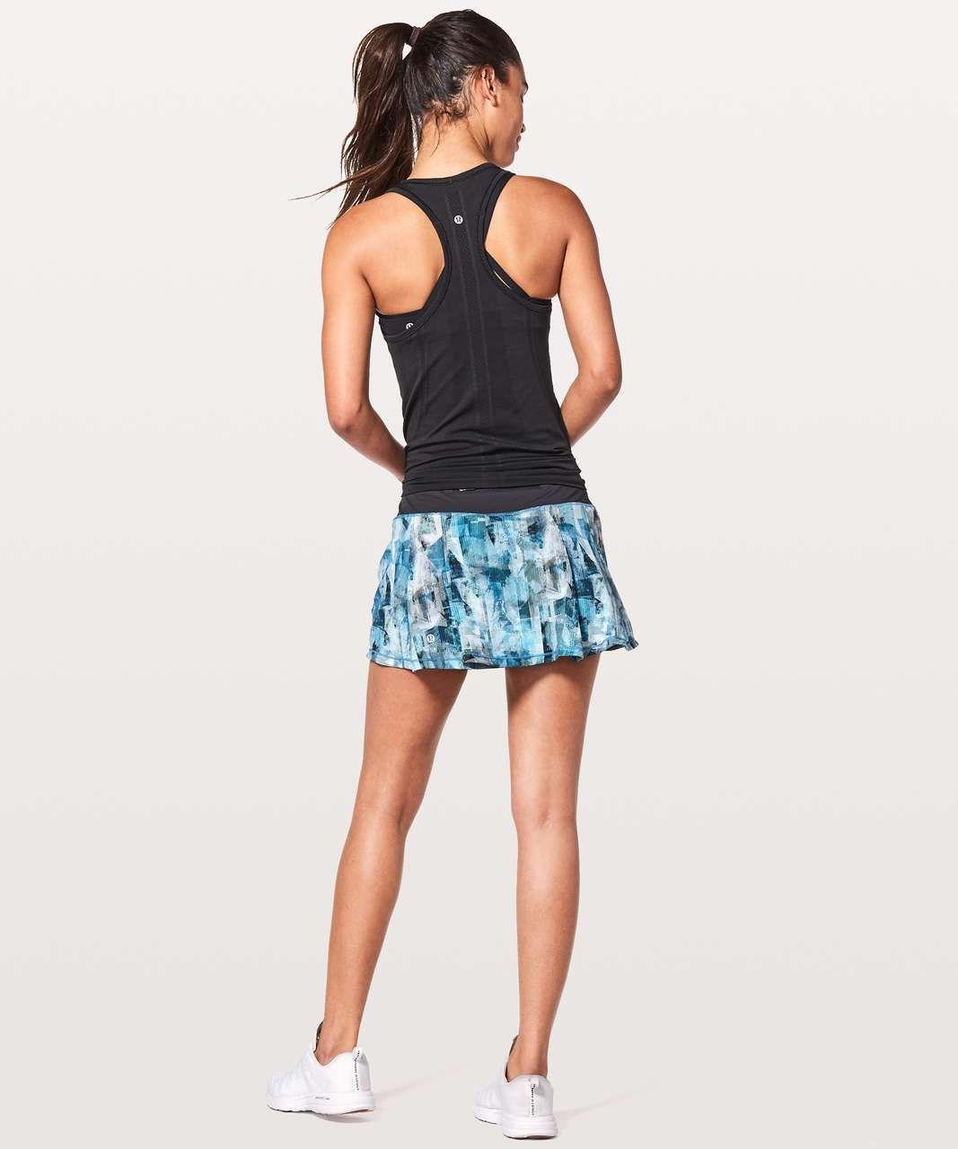 b892e3e983 Lululemon Pace Rival Skirt (Regular) *No Panels - Sun Dazed Multi Blue /  Super Dark