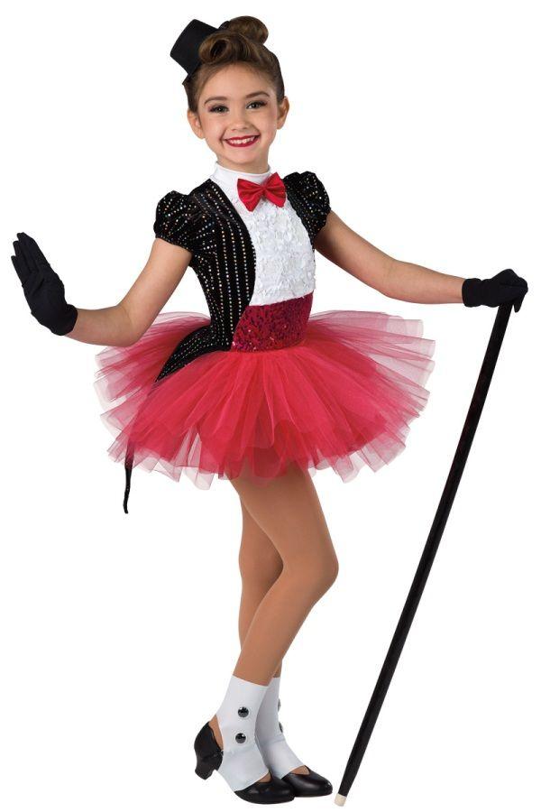 Style Broadway Baby Sequined Black Velvet Red