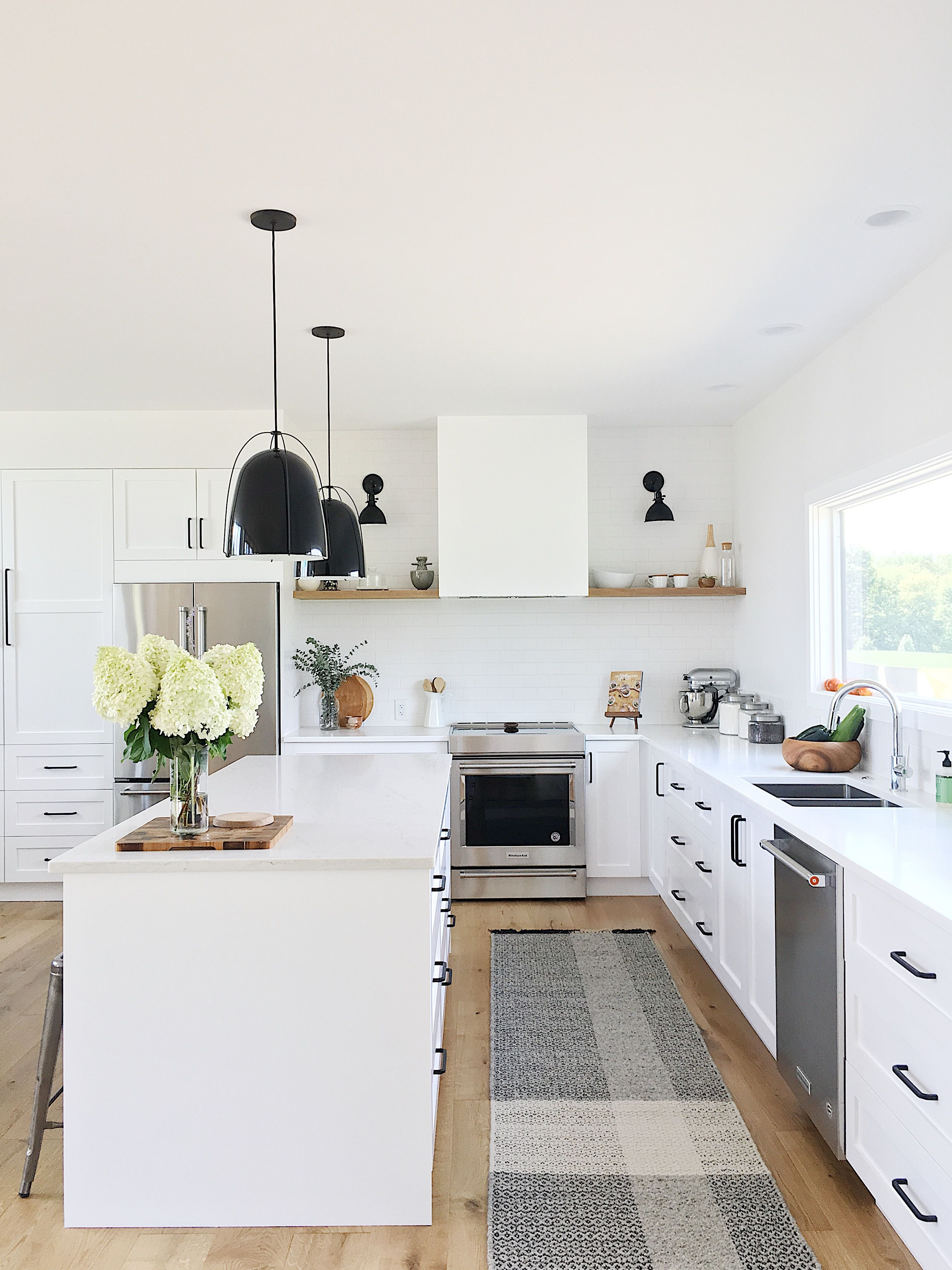 Best The Simply Simple Home By Kelsey Johnston White Kitchen 400 x 300