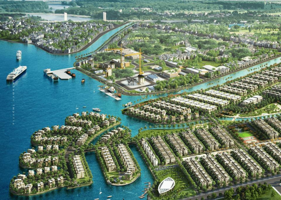 Image result for khu đô thị xanh
