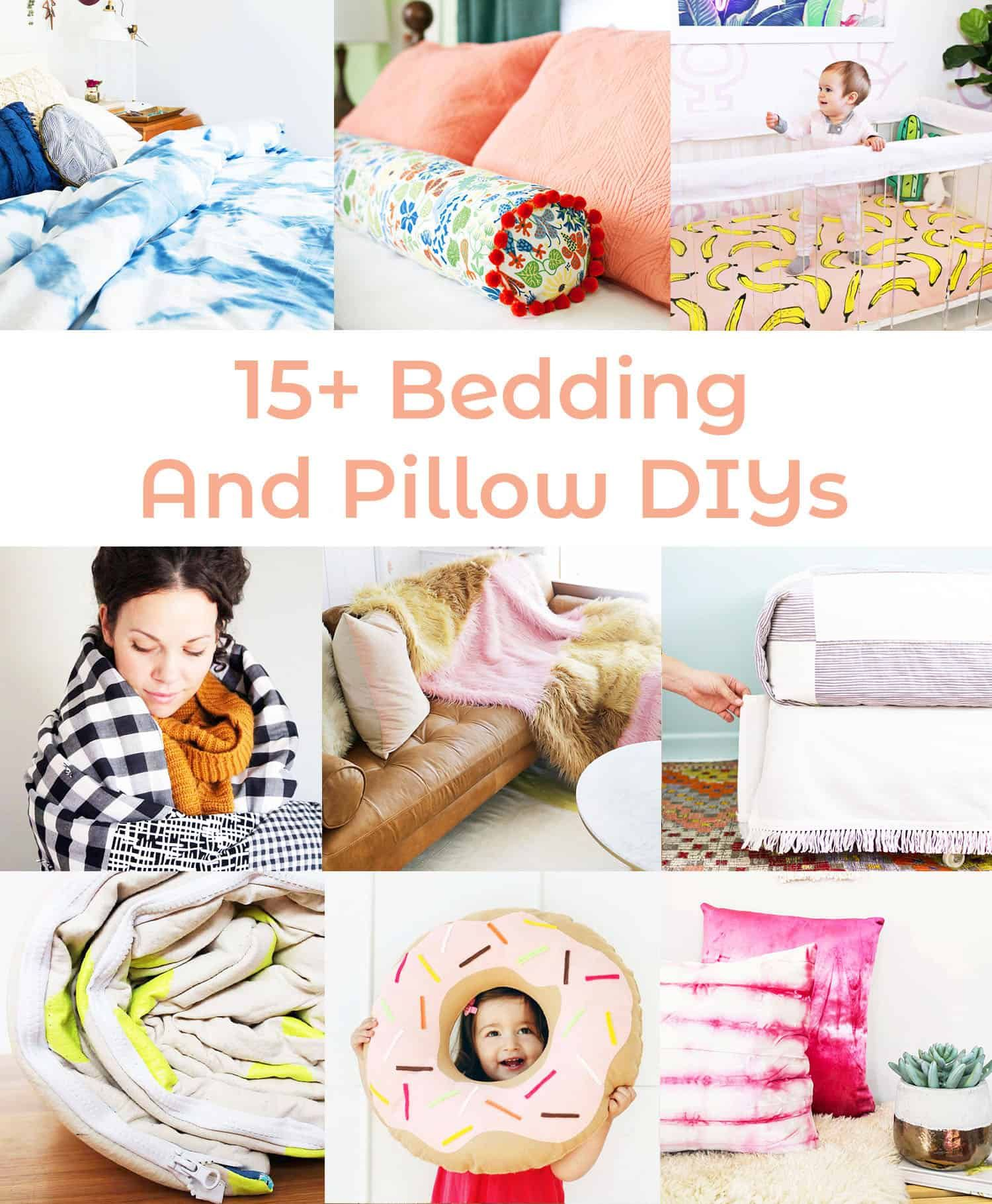 Pillow Talk: Our Favorite Bedding and Pillow DIYs - A Beautiful Mess