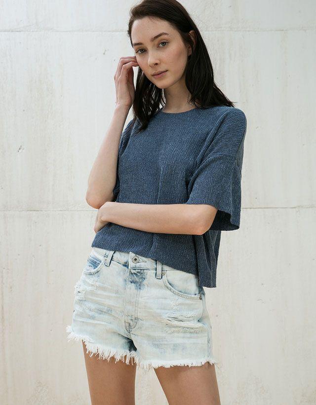 aca4cb25722 Tee-shirts pour femme - Soldes d été 2016