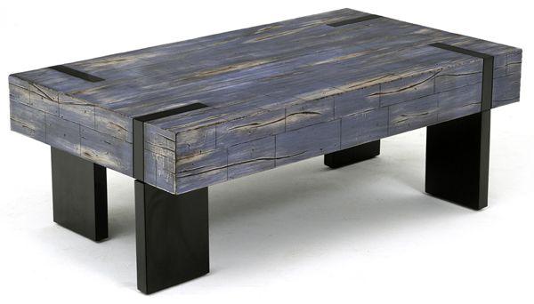 Rustic Modern Coffee Table Reclaimed Custom