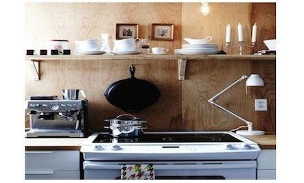 DIY affordable rustic kitchen