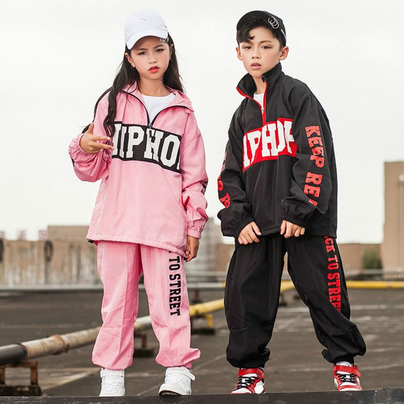 e8fddd6c57 Stage Competition Korean Style Hiphop Dance Costume Hip Hop Clothes ...