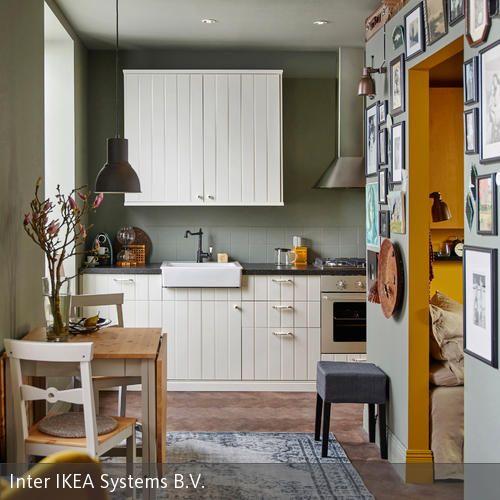 Ideen für kleine Küchen Interiors and Kitchens - ikea kleine küchen