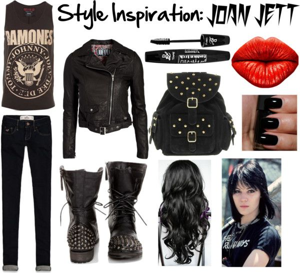 Style Inspiration Joan Jett By Lin Lin On Polyvore