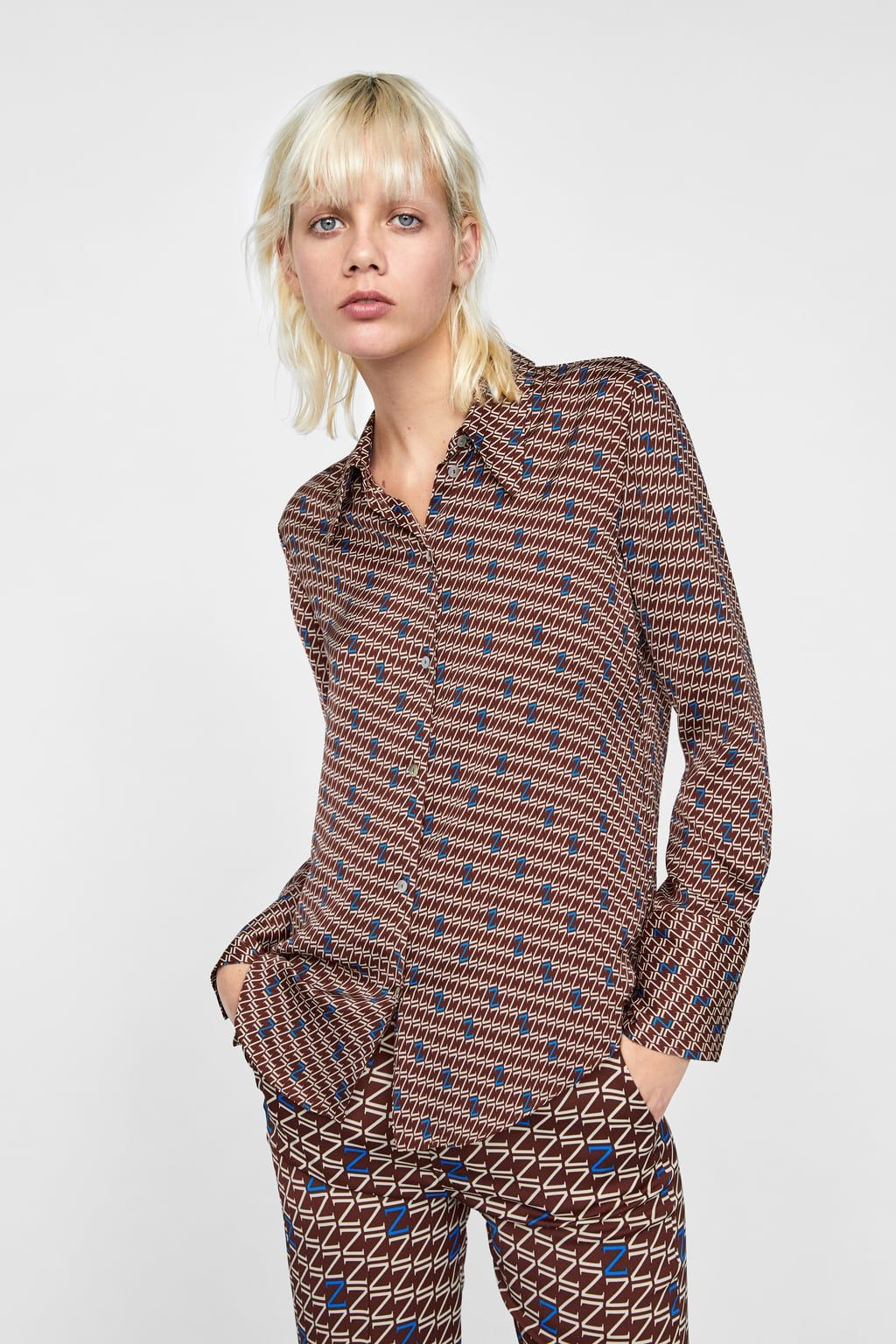 47d16a86a Image 2 of PRINTED ZARA LOGO TOP from Zara | Clothes n stuff | Zara ...
