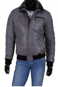 86b9002d08890 Marynarka skórzana męska DORJAN ALX073 | Polecane | Jackets, Leather ...