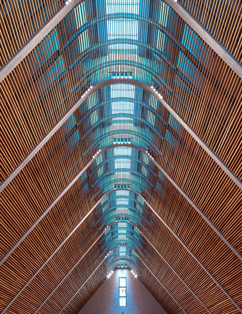 Kericho Cathedral By John Mcaslan Places And Possibilities Sacred Heart Cathedral Timber Architecture Sacred Architecture