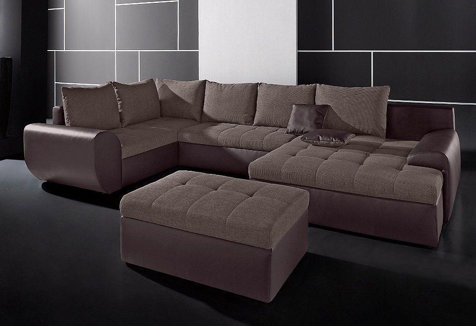 INOSIGN XXL Wohnlandschaft, wahlweise mit Bettfunktion und - big sofa oder wohnlandschaft