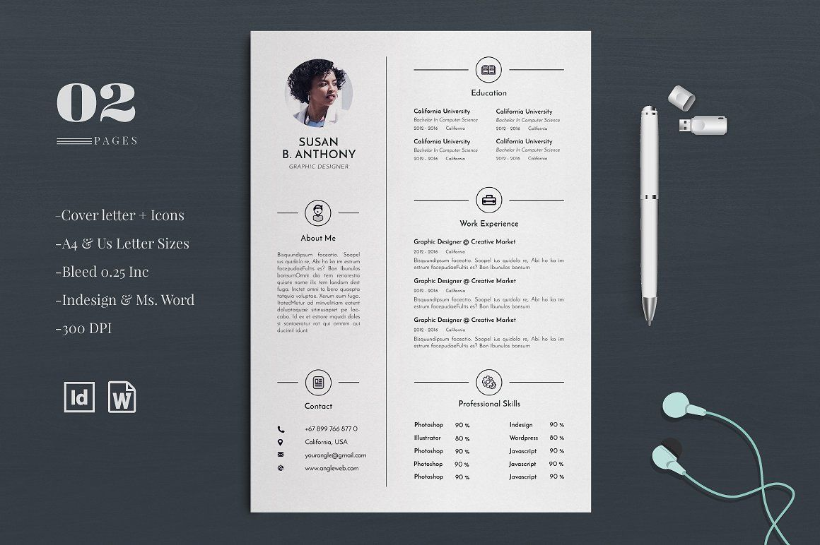 Resume Cv Cover