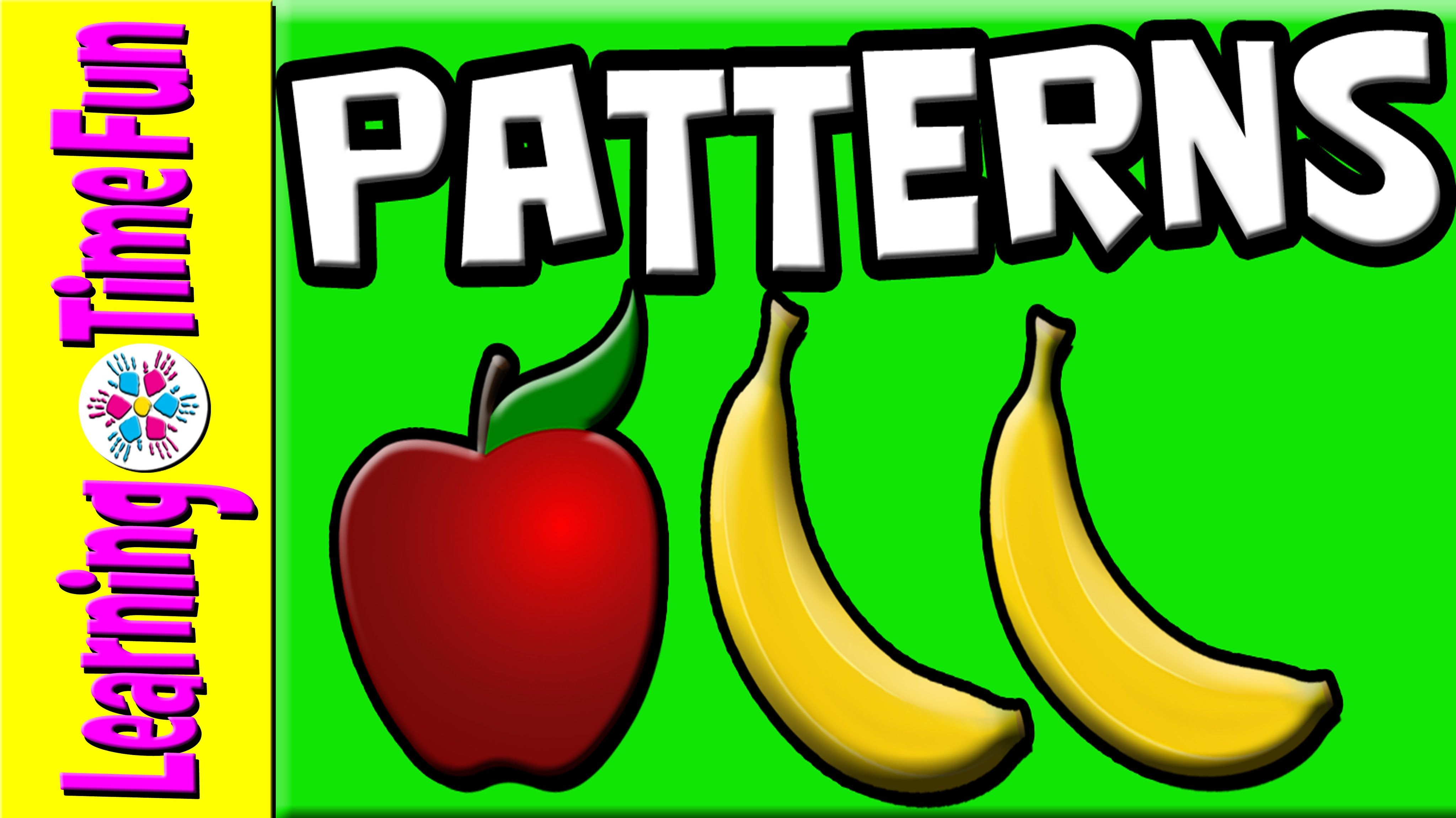 Learn Patterns For Kids With Fruits In This Abb Pattern