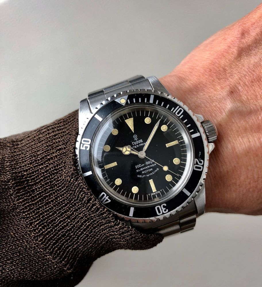 1c69b520939b Vintage Rolex Tudor Oyster Prince Submariner Ref. 7016 0 from 1968 ...