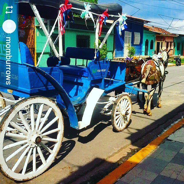 From @momburrows: Best way to tour #Granada #Nicaragua #ILoveGranada #AmoGranada…