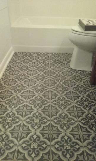 Merola Tile Braga Black 7 3 4 In X 7 3 4 In Ceramic Floor And Wall Tile 10 76 Sq Ft Case Ftc8brbk At The Ceramic Floor Ceramic Floor Tiles Merola Tile
