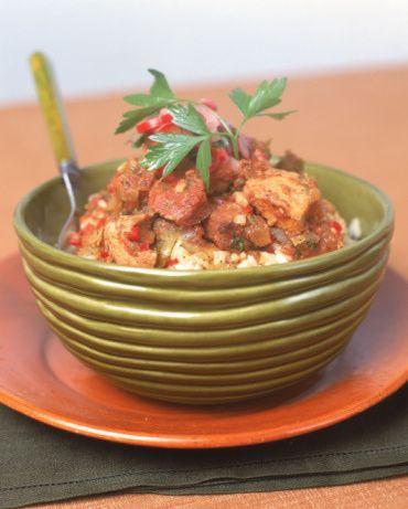 Crock Pot Chicken, Sausage, and Shrimp Gumbo #crockpotgumbo