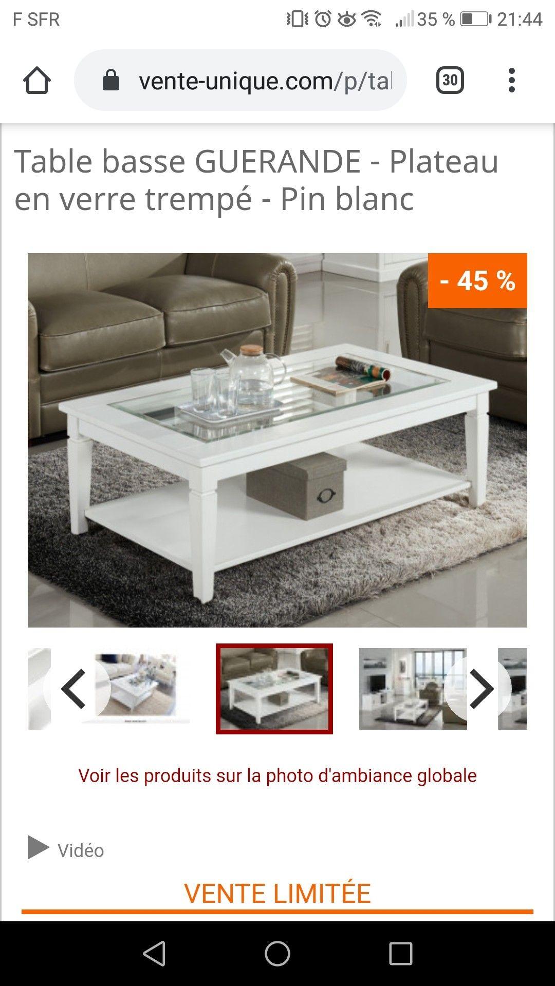 Epingle Par Moi Sur Salon Table Basse Plateau En Verre Table
