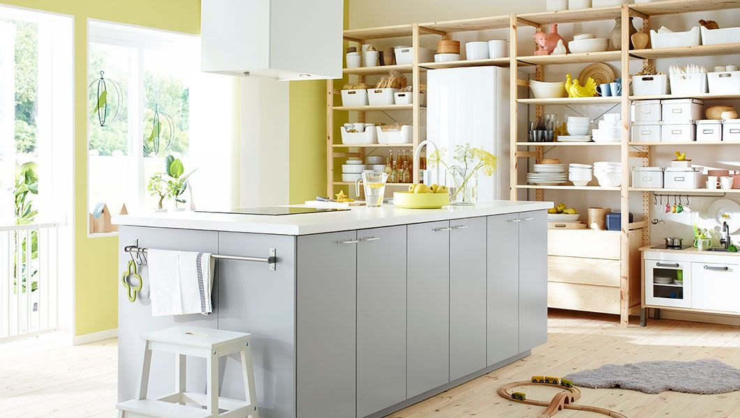 Good Küchen: 9 German Kitchen Systems | Kitchens, Open shelving ... | {Ikea kücheninsel metod 1}